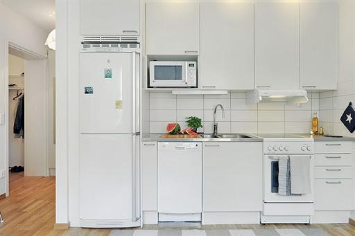 Sposata! Ideias para o lar Grandes ideias para pequenos espaços (2)  Cozin # Bom Negocio Armario De Cozinha Es