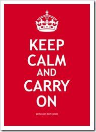 Keep Calm Vermelho