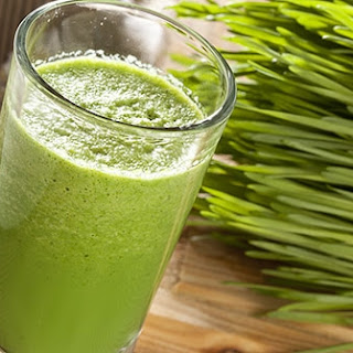 Vegan wheat grass protein shakeShare