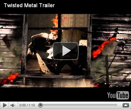 Check out this latest trailer of Twisted Metal :-PS3