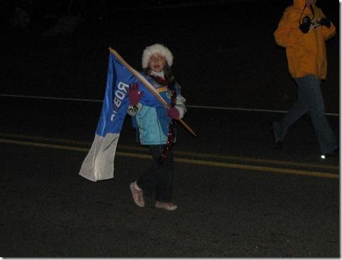 Daisy Troop in Xmas Parade