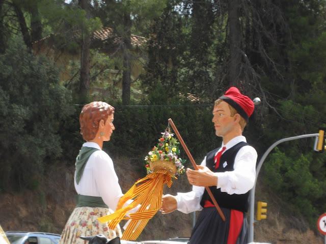 Imatge de l'Isidre i la Maria a la pla&ccedil;a 11 de setembre. <b>Autor: Xavier A.</b>
