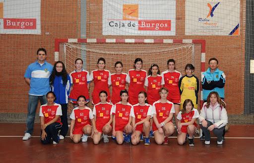 balonmano aula infantil femenino 2009-2010