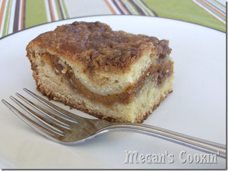 Sour Cream Pumpkin Coffee Cake Recipe — Dishmaps
