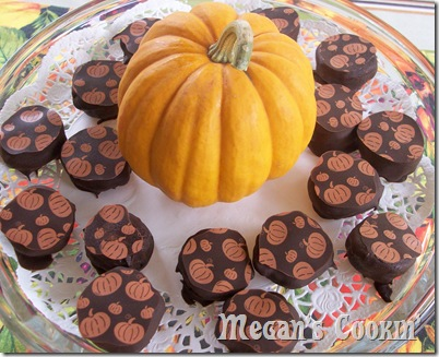 Pumpkin Pie Spiced Chocolate Truffles