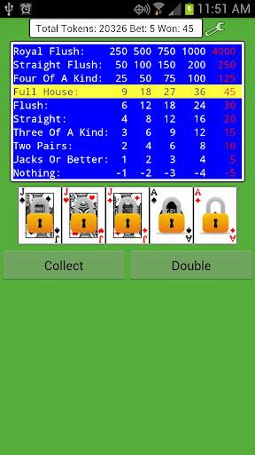 Jacks or Better - Poker