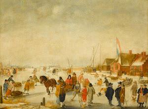 RIJKS: Barend Avercamp: painting 1679