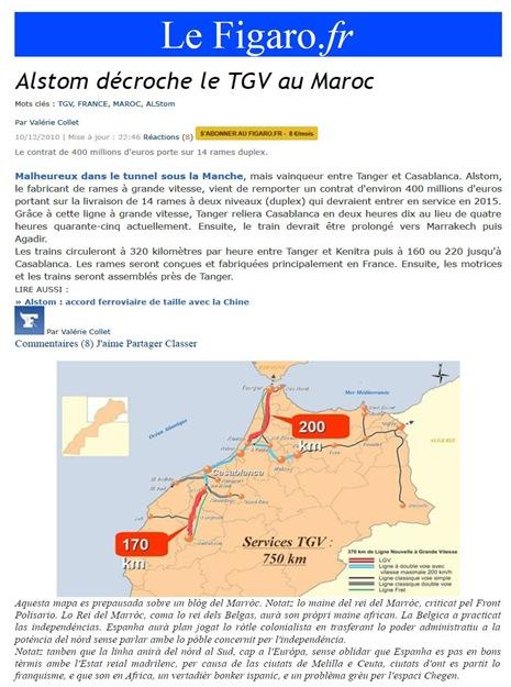 TGV al Marròc 101210 LeFigaro