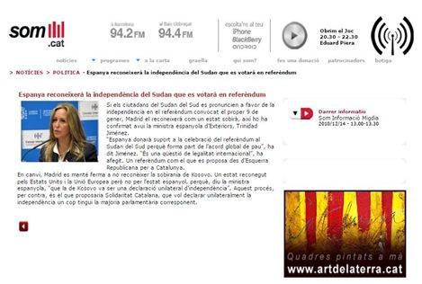 Espanya reconeisserà l'independéncia del Sud Sodan 141210