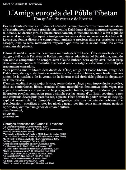 Claude B.Levenson es mòrta - 141210