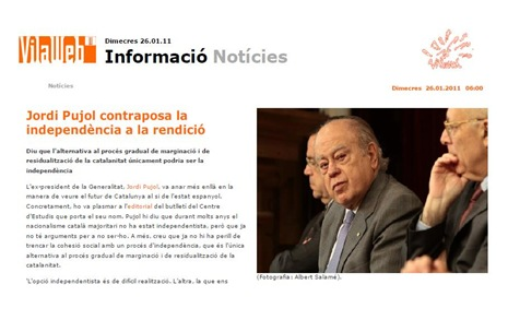 Ligam per Vilaweb Jordi Pujol
