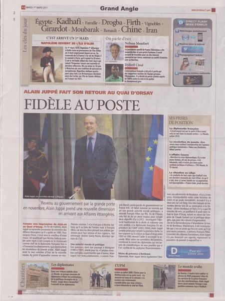 fidèl al pòst Alain Juppé Bordeaux7 010311