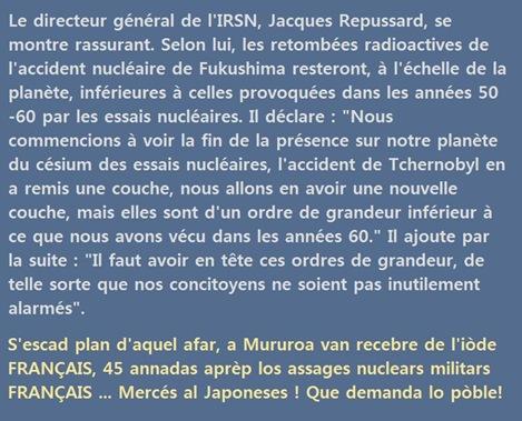 arrogança francesa nucleara