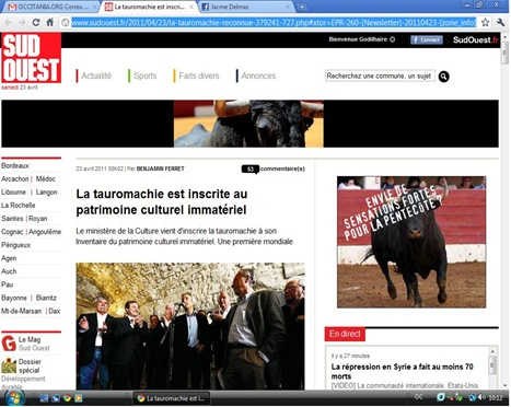 Editorial Sud-Ouest 230411