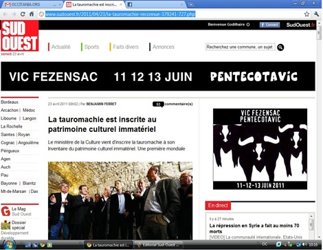 Editorial Sud-Ouest 230411 2