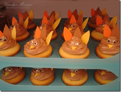 turkey-cupcakes