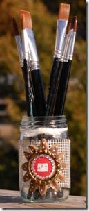 Brush-Jar