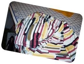 Multi color geometric-stripe knit-Denver Fabrics-2-2011