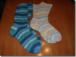 socks finished
