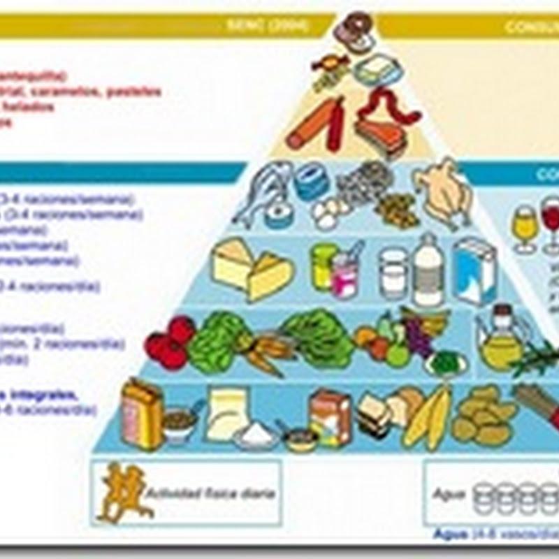 Hiperuricemia, pirámide alimenticia y pequeñas nociones de nutrición