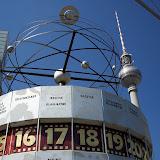 Alexanderplatz har koll på klockan
