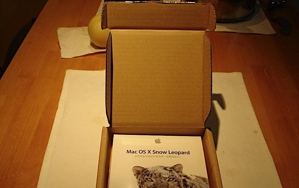 升級Mac OS X Snow Leopard 雪豹之非敗不可