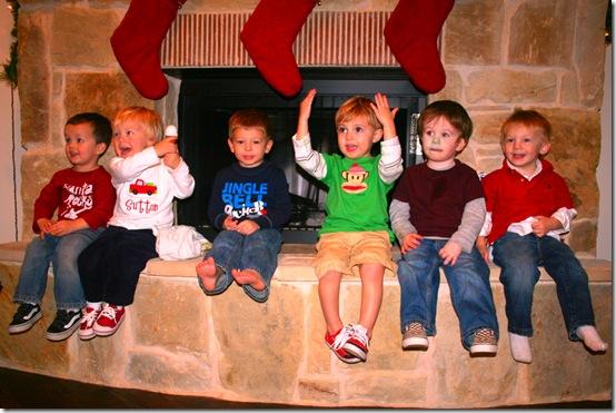 Santa and Playgroup 09 032