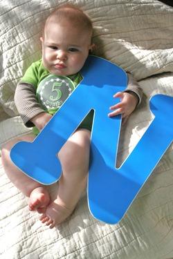 Nash 5 months old 055
