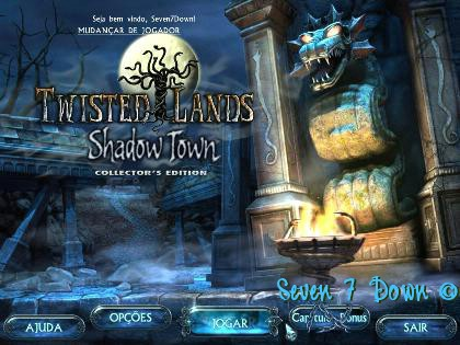 Twisted Lands: Shadow Town Collector's Edition Em Português