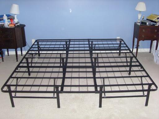 What\'s the Best Mattress | Wal-Mart Premier Platform Bed Frame (King ...
