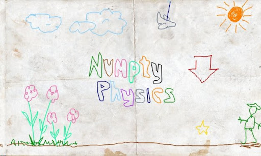 numpty physics game start screen