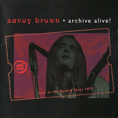 Savoy Brown ~ 1998 ~ Live At Record Plant