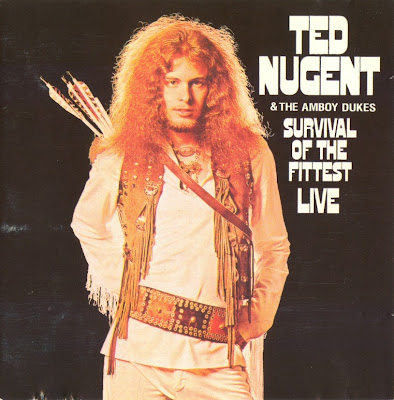 Ted Nugent & the Amboy Dukes ~ 1971 ~ Survival of the Fittest Live