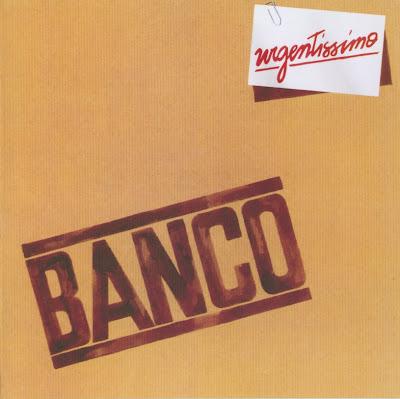Banco Del Mutuo Soccorso ~ 1980 ~ Urgentissimo