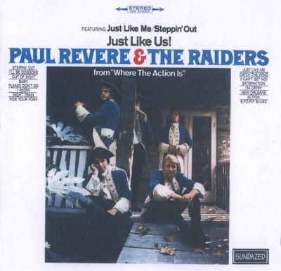 Paul Revere and The Raiders ~ 1965 ~ Just Like Us!