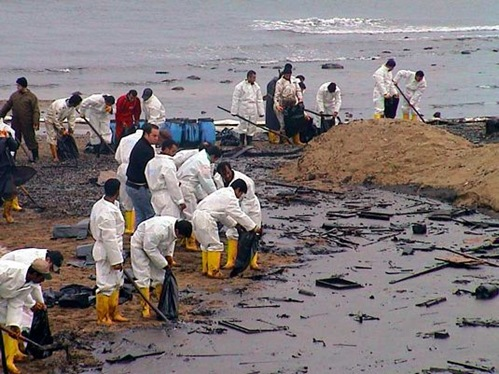 Gulf War oil spill