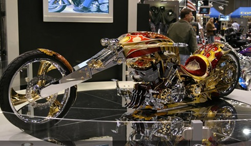 10 Absolutely incredible bling-bling vehicles  09