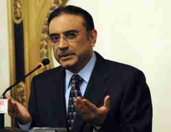 Asif Ali Zardari, President of Pakistan