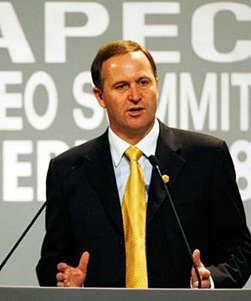 John Key, New Zealand Prime Minister
