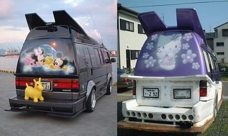 Strange Japanese Custom Vans 06