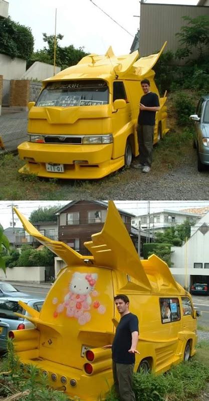 Strange Japanese Custom Vans 12