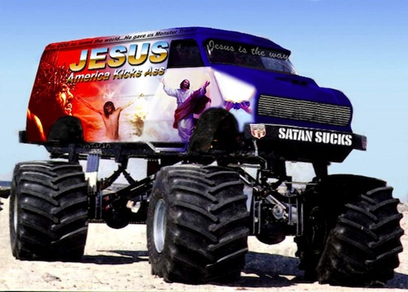 Jesus the Monster Truck