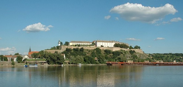 Fortress Petrovaradin in Novi Sad, Serbia