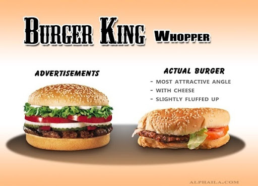 MCDONALD WHOPPER  FUNNY QUOTES