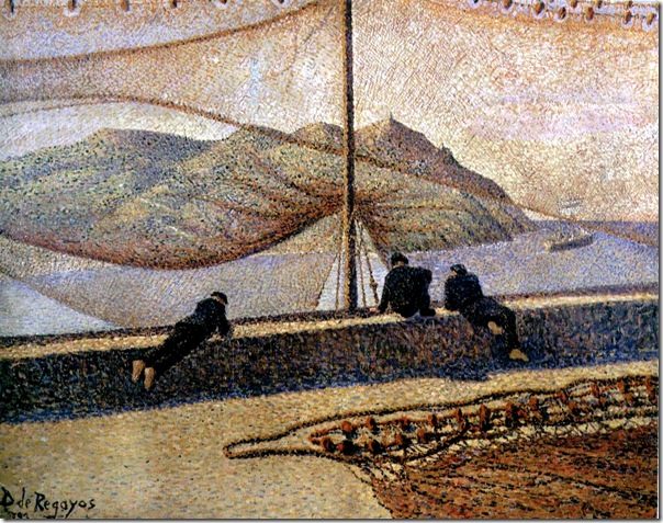 Darío de Regoyos -REDES-SAN SEBASTIAN 1893