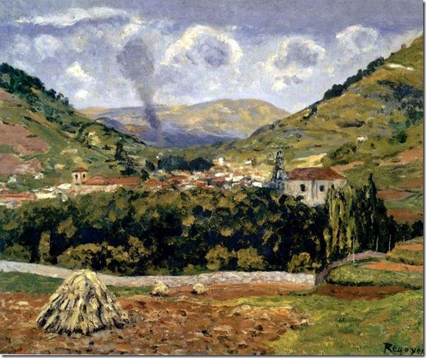 Darío de Regoyos - LA VILLA DE TOLOSA 1887