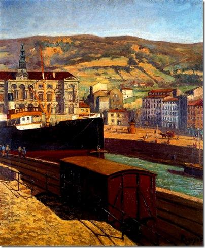 Darío de Regoyos -La Ría de Bilbao