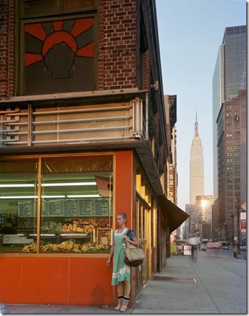 joel meyerowitz - Young Dancer New York  1978
