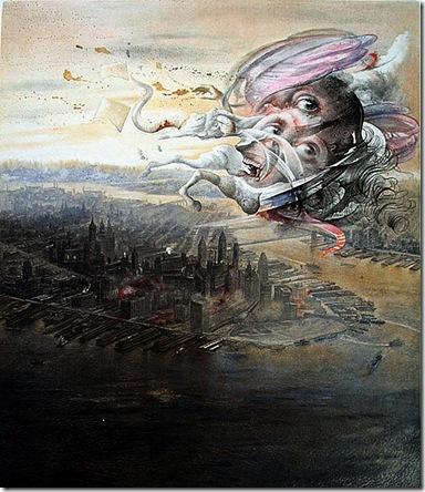 Grabados de Poeta en Nueva York EL MASCARÓN(1)