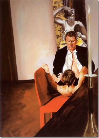 eric fischl -Krefeld Project Dining Room Scene 1, 2003